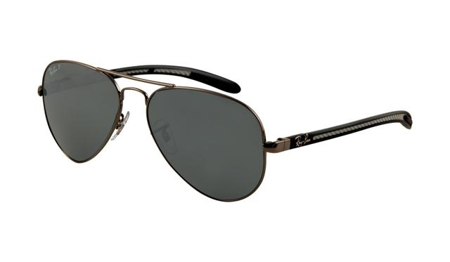 ray ban rb8307 aviator tech solbriller