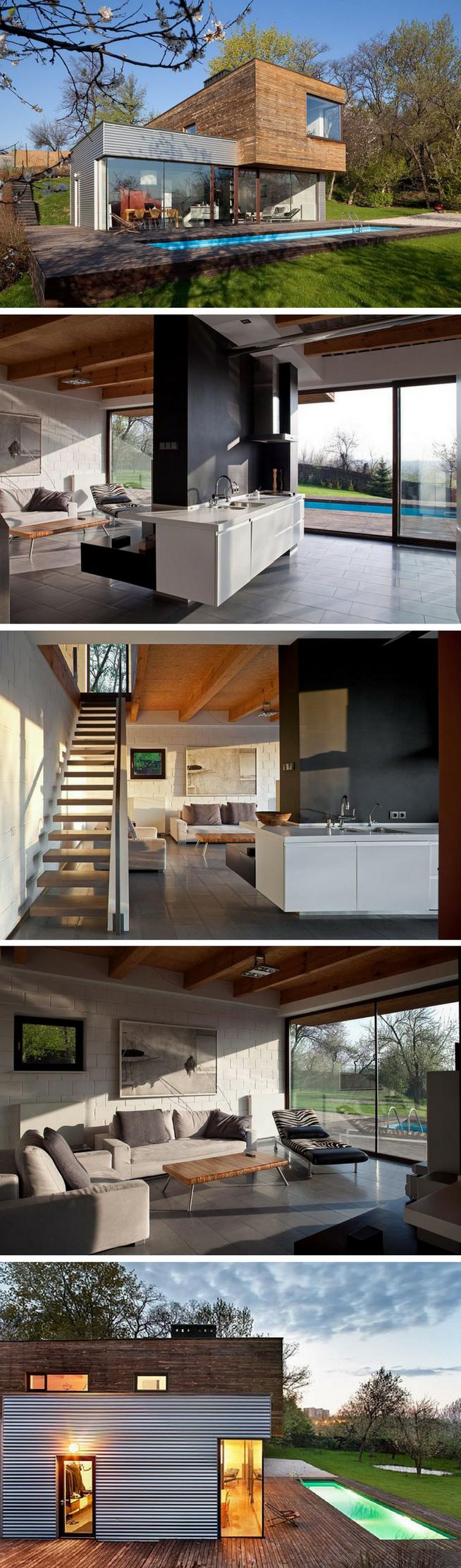ANTI PATIO SHIPPING CONTAINER HOME   Arquitectura contemporánea ...