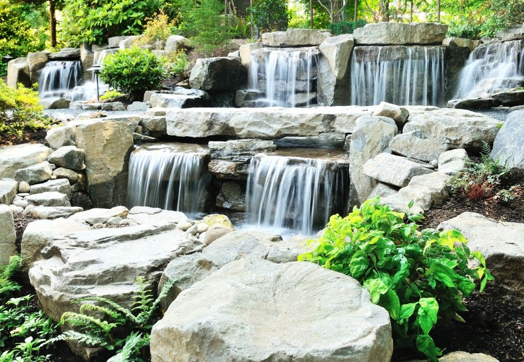 Breathtaking Rock Waterfalls Perfect for your Backyard - http://mostbeautifulgardens.com/breathtaking-rock-waterfalls-perfect-for-your-backyard/