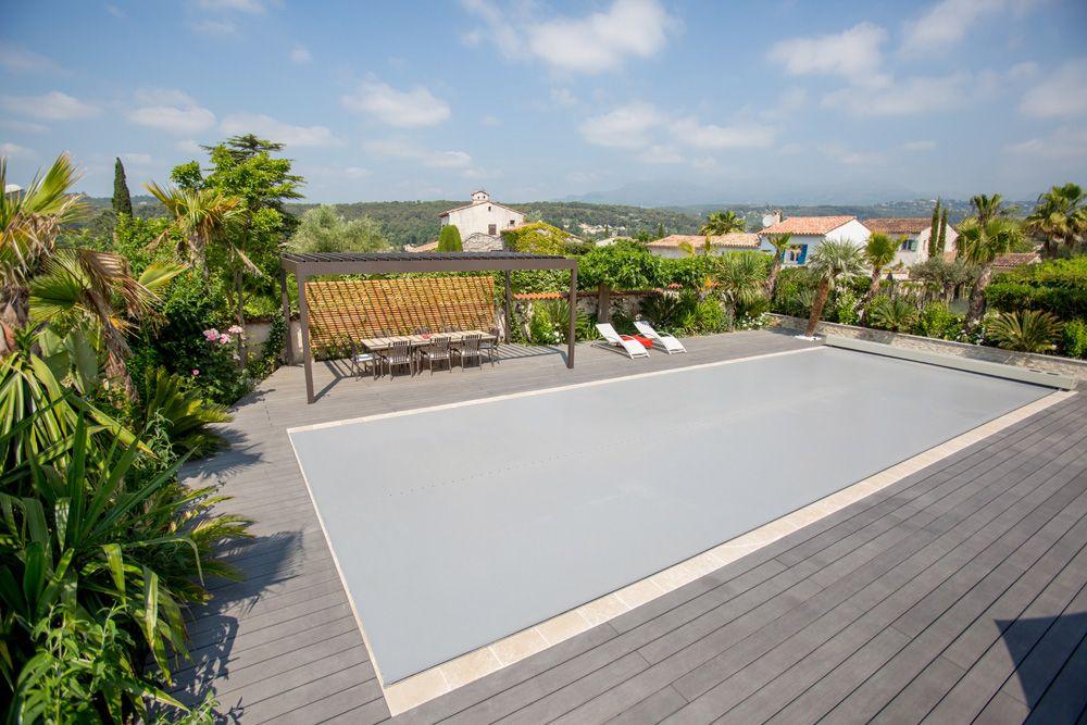 Couverture bache piscine Abrisud 6-pool house Pinterest Pool