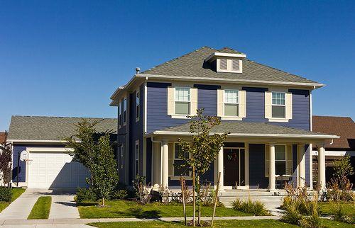 38 American Foursquare Home Photos PLUS Architectural Details ... on