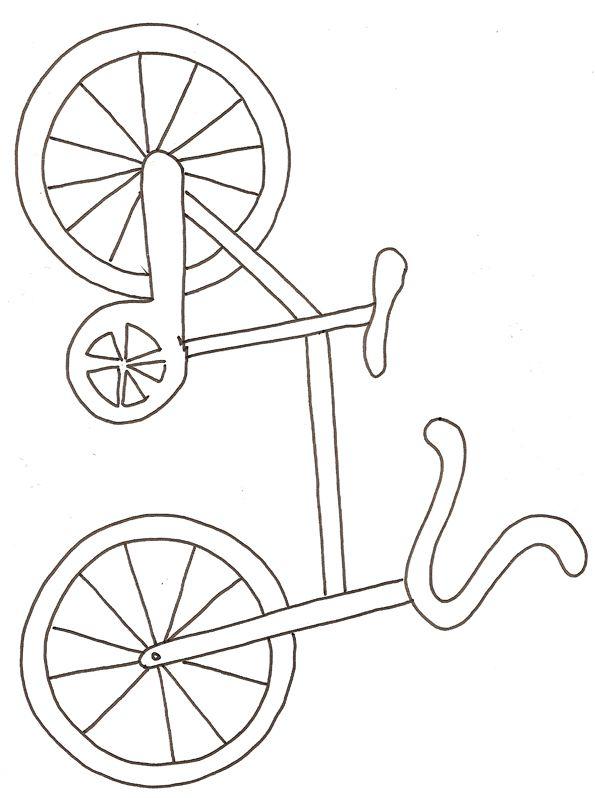 Coloriage D Un Velo Dessin 1 Bisiklet Boyama Bisiklet Ve Boyama