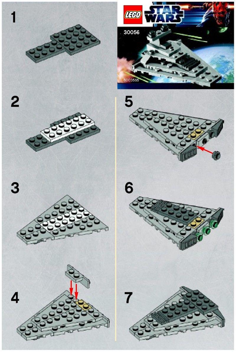 Star Wars Mini Star Destroyer Lego 30056 Lego Star Wars
