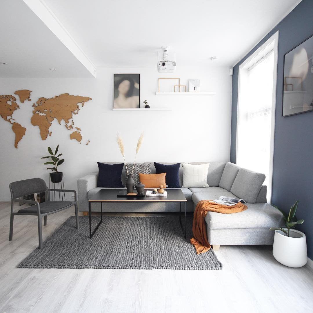 Living Room Decorating Ideas On Instagram Livingroom Livingroomdecor Livingro Living Room Decor Inspiration Living Room Designs Simple Living Room Designs