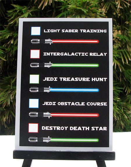 star wars jedi training birthday party printables
