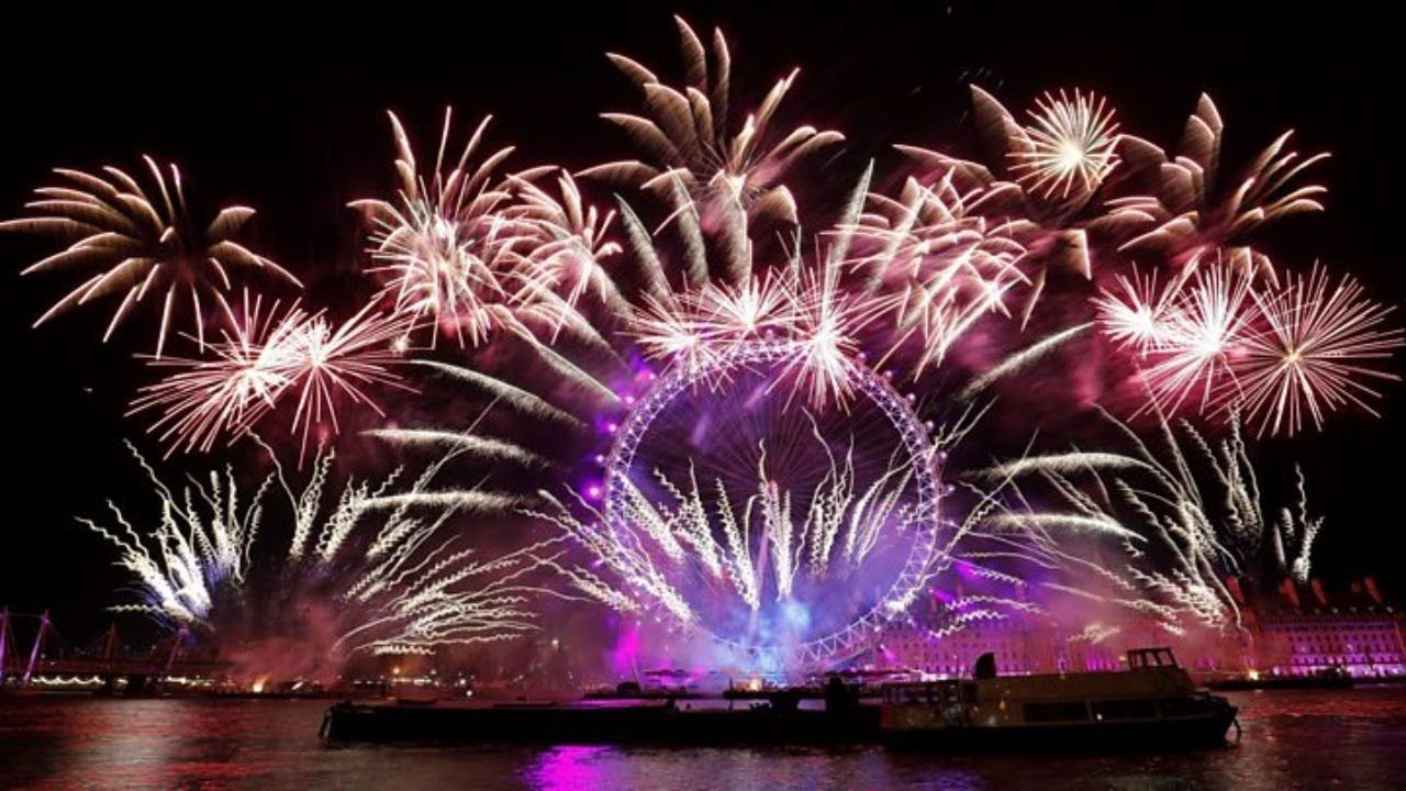 Happy New Year's Eve 2020 Fireworks from around the world