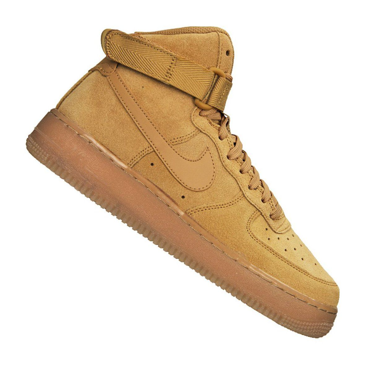 Nike Air Force 1 High LV8 Gs Jr CK0262 700 shoes brown