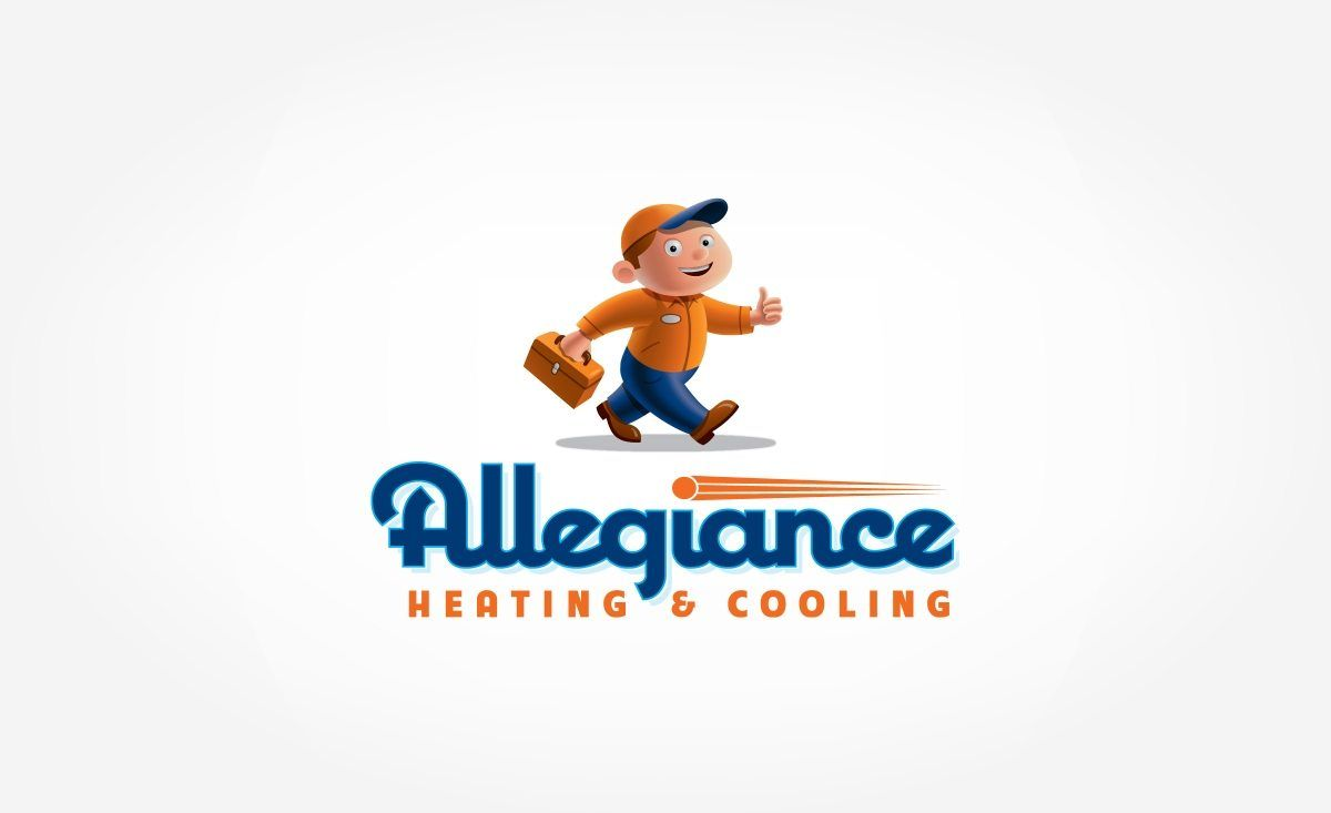 Logo Design Allegiance Heating Cooling By Graphic D Signs