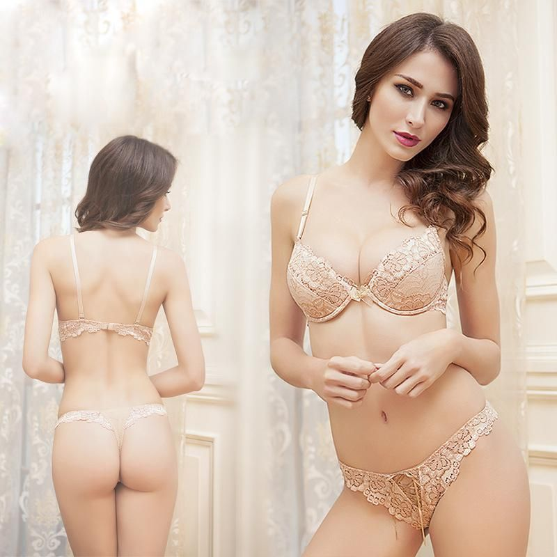 cool Ribbons Bra Thong Arranged Attractive Bandage Cushioned Drive ...