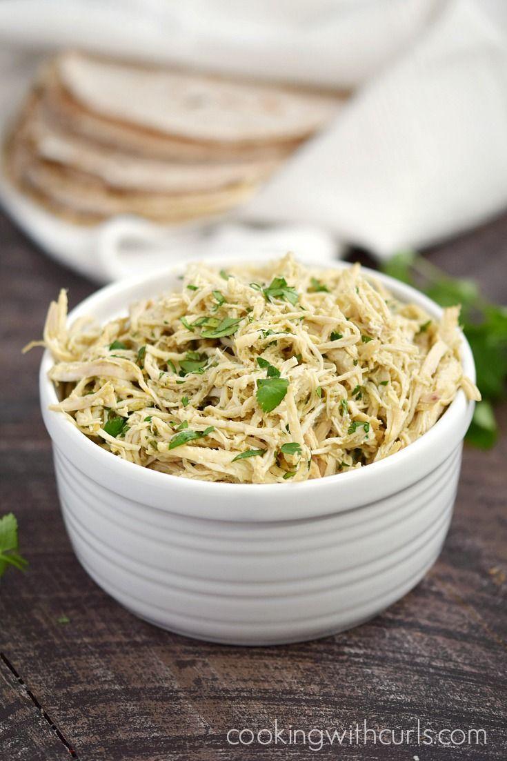 Instant Pot Salsa Verde Shredded Chicken Recipe Instant Pot Recipes Pot Recipes Easy Instant Pot Recipes