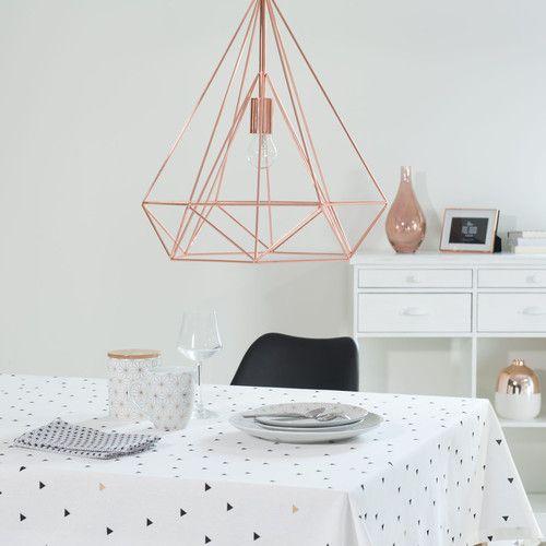 suspension en m tal d 45 cm home d co suspension metal maison du monde deco cuivre. Black Bedroom Furniture Sets. Home Design Ideas