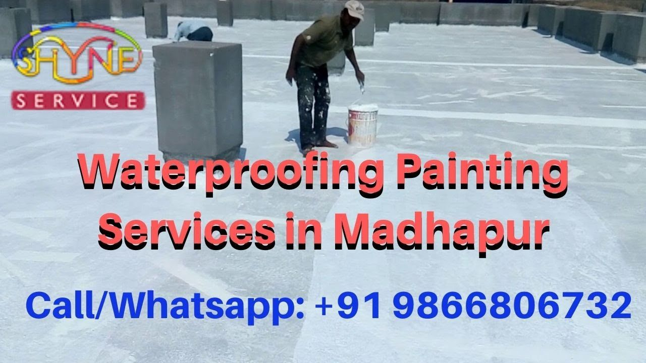 Waterproofing Painting Services In Madhapur Painting Services In Hyder Painting Services Waterproof Paint House Painting Services