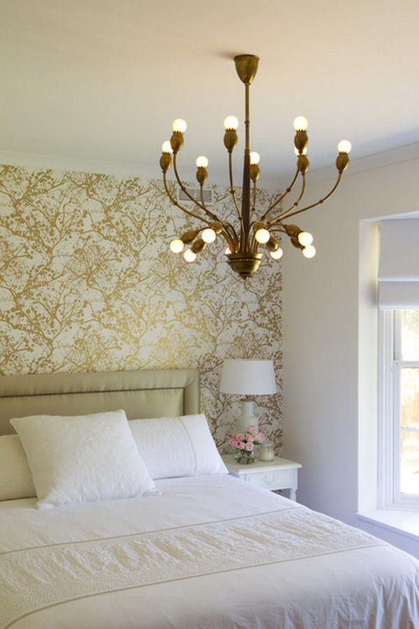 Milwaukeewindowinstallation Gold Bedroom Wallpaper