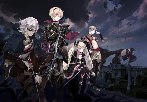 FE Fates: Niles, Leo, Elise, Odin