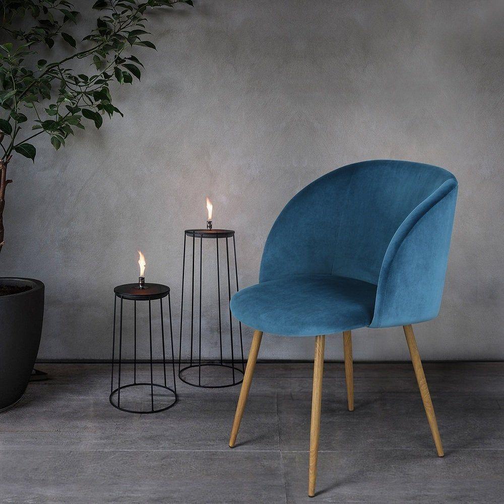 The Under 100 Velvet Chair Set That S Going Absolutely Freaking