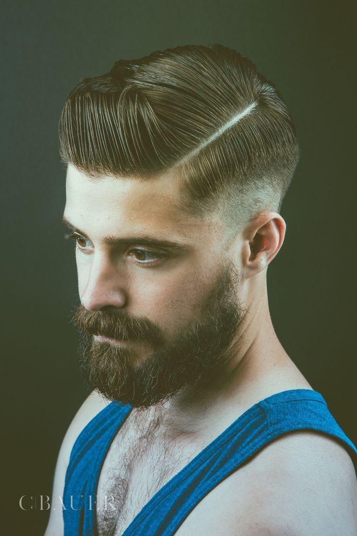 Modern pompadour beard - Nice Latest Pompadour Hairstyles For Men 2016