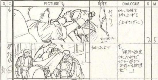 storyboard-akira-anime-1988-motos Akira Pinterest Storyboard - anime storyboard
