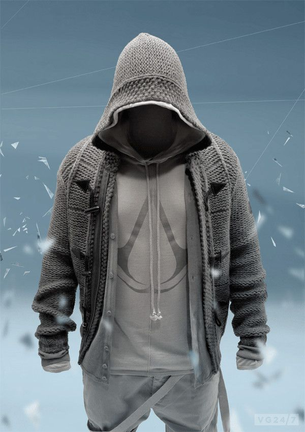 Assassin's Creed-inspired hoodie from Musterbrand