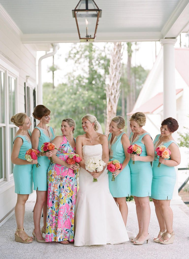 Color Crush: Turquoise and Coral | Pinterest | Turquoise bridesmaid ...