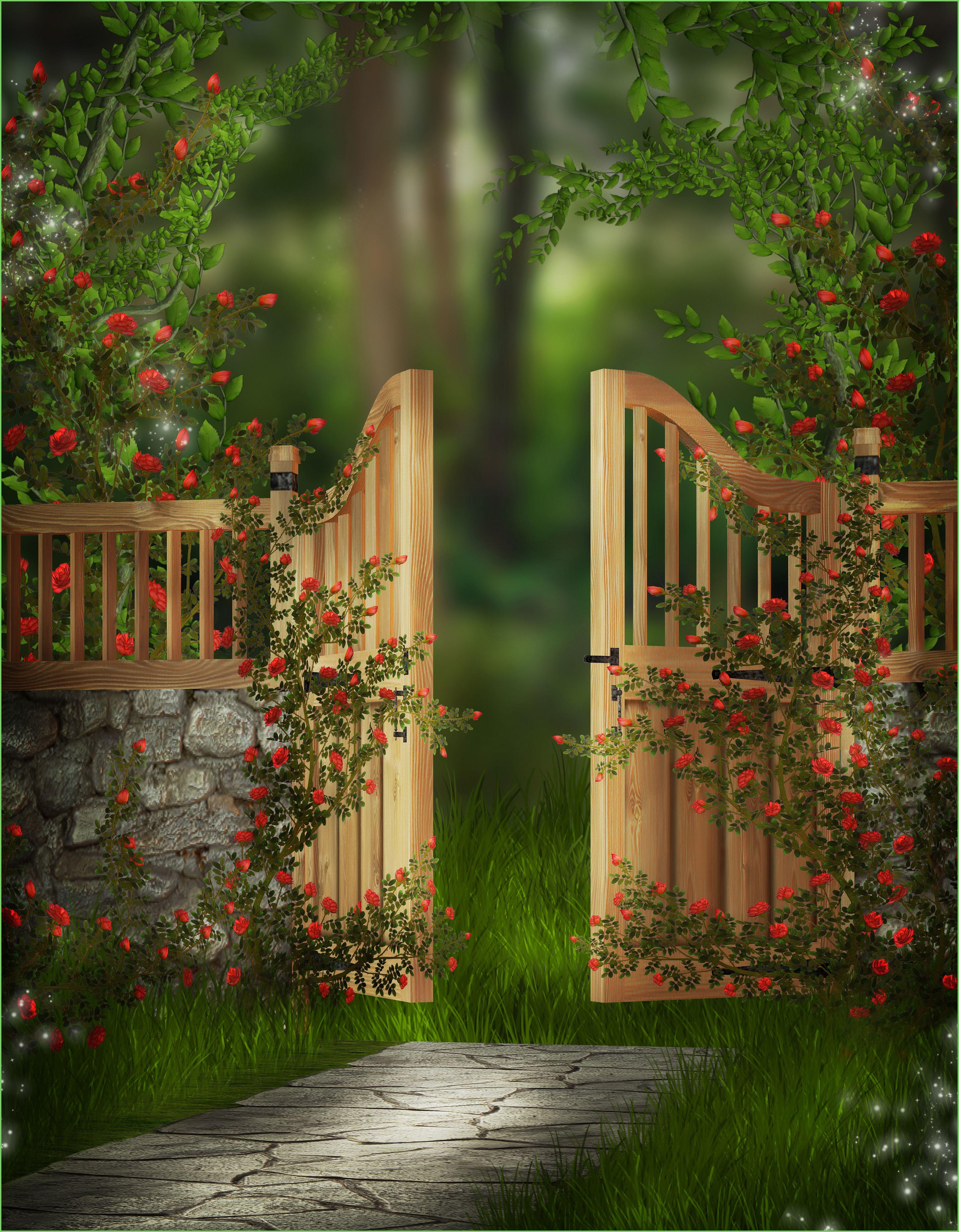 What lies beyond the garden gate ... | PATHS THAT BECKON | Pinterest ...