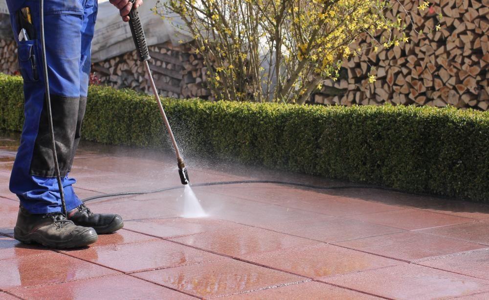 Gepflasterte Terrassen Richtig Reinigen Terrassenplatten Reinigen Terrasse Reinigen Hochdruckreiniger