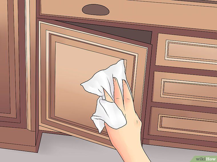 3 Ways To Clean Laminate Cabinets, How To Best Clean Wood Cabinets