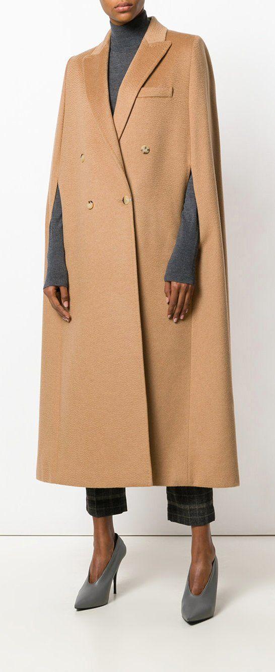 4f169f246f73 MAX MARA Verdun cape, explore new season coats on Farfetch now ...