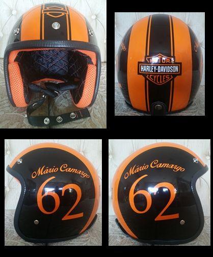 903552c65 CLASSIC HARLEY-DAVIDSON HELMET Cascos De Moto, Motocicletas, Motos, Cascos  Harley Davidson