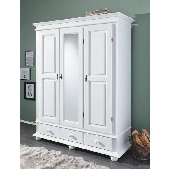 wundersch ner kleiderschrank in wei von landscape romantischer chic kleiderschr nke. Black Bedroom Furniture Sets. Home Design Ideas