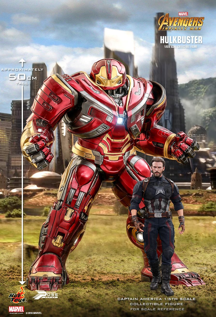 Hot Toys Avengers Infinity War Hulkbuster 1 6th Scale Power