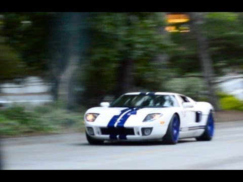 Twin Turbo Ford Gt Loud Acceleration Exhaust Sound Audi R Chase