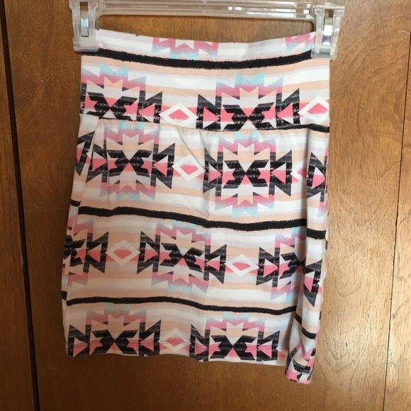 Bodycon skirt Body con mini skirt. Perfect condition Charlotte Russe Skirts Mini