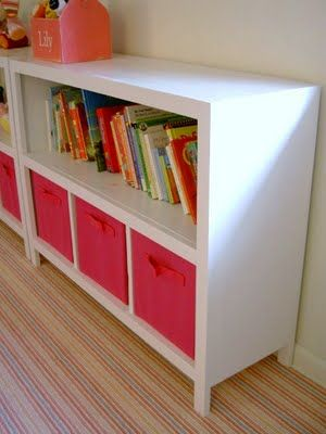 Book storage ideas for kids room