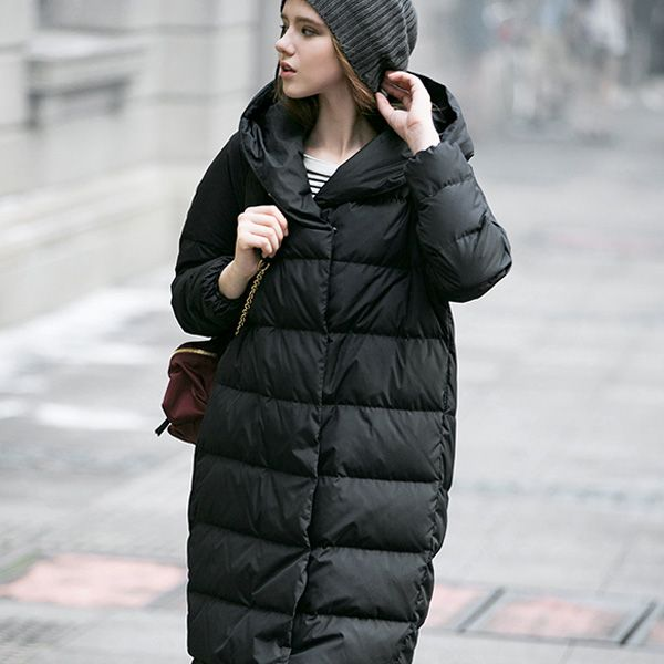 фото зимний женский пуховик