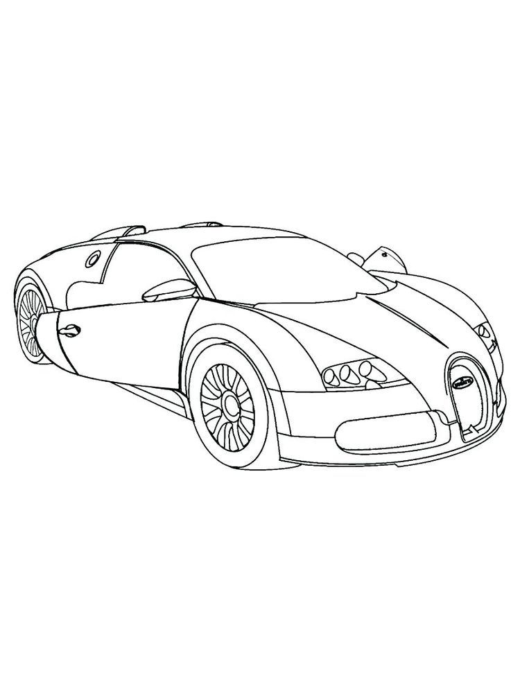 Free Printable Ferrari Coloring Pages