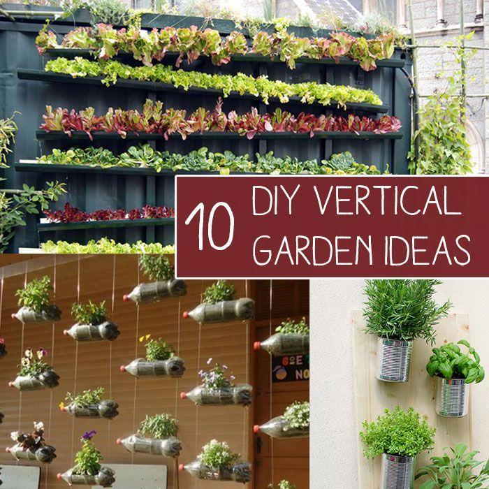Vertical Garden Diy, Vertical