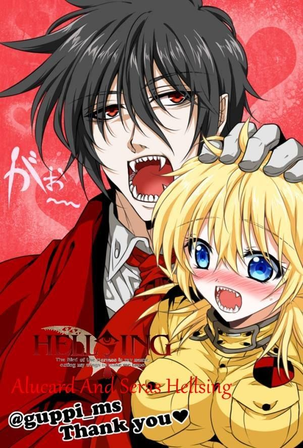 Alucard and Victoria | Alucard and Seras Forever ...