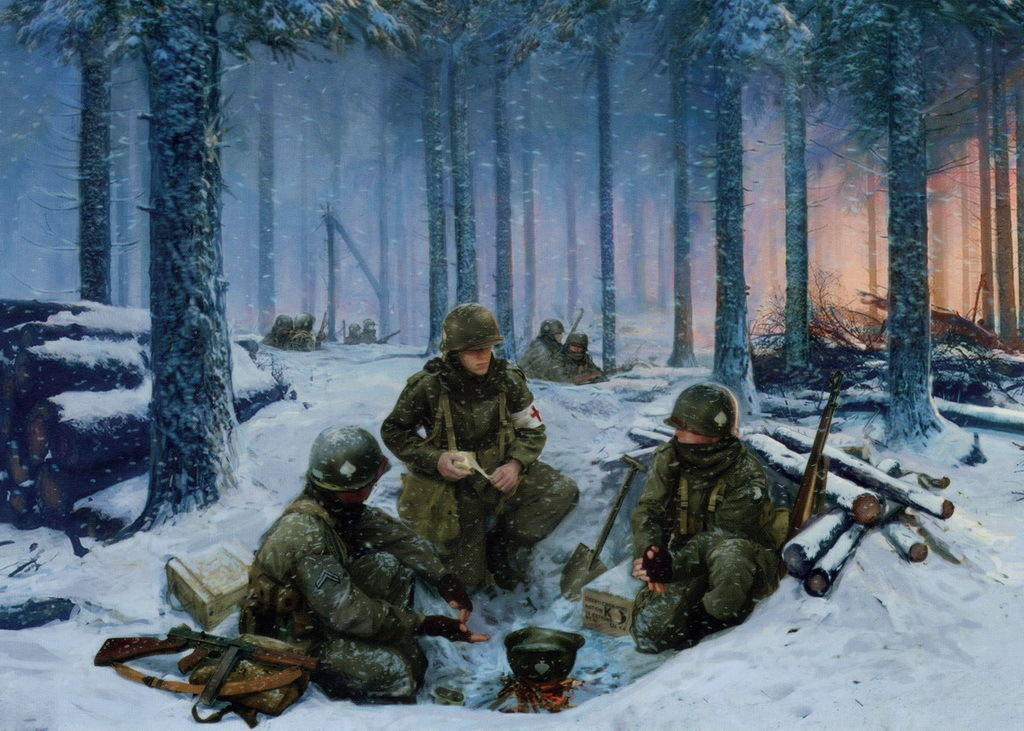 battle of the bulge bastogne The battle of the bulge began as a crushing counteroffensive that took the allies by complete surprise in the end, it would be one of their finest hours like many great endeavors, the facts—90,000 allied casualties, 340 german tanks behind a 13-division coordinated assault—do little to tell.