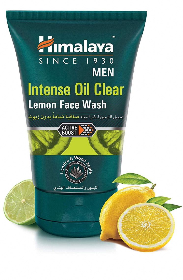 Himalaya lemon facewash Lemon on face, Face wash, Intense