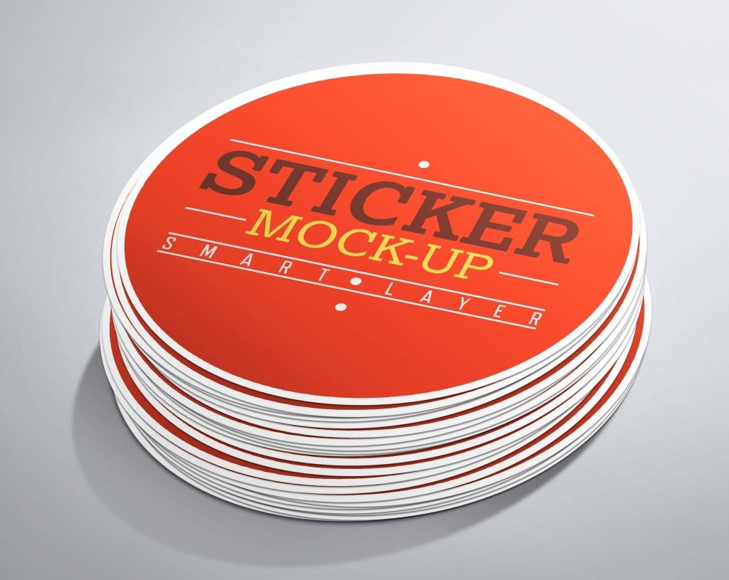 Sticker Mockup Disenos De Unas Presentaciones Power Point