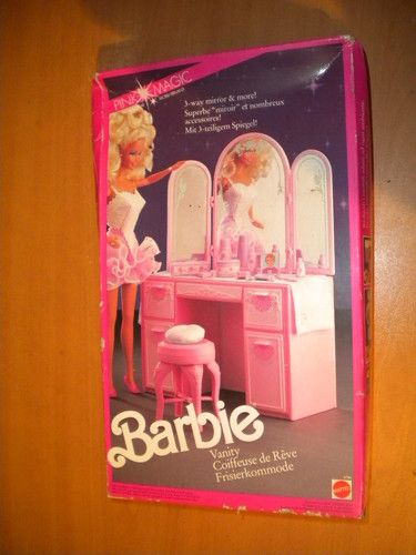 1991 Pink Magic Vanity Set #4764