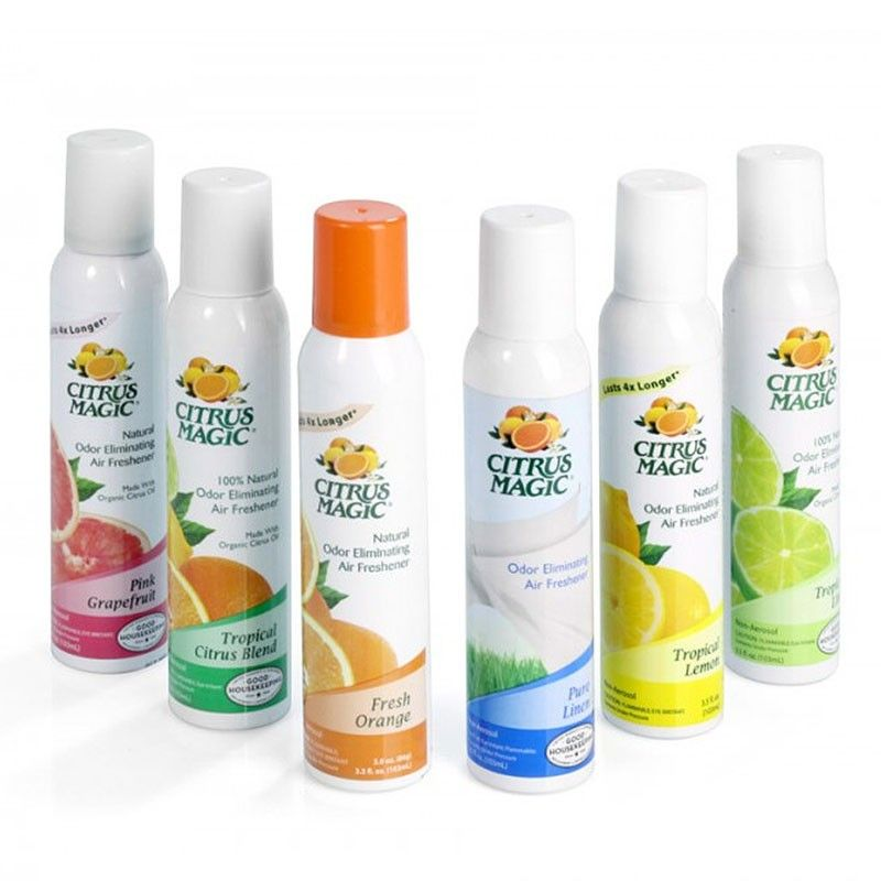 Citrus Magic Ambientador Spray | Spray, Ambientador natural, Olor