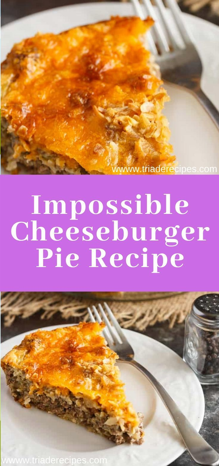 Impossible Cheeseburger Pie Recipe