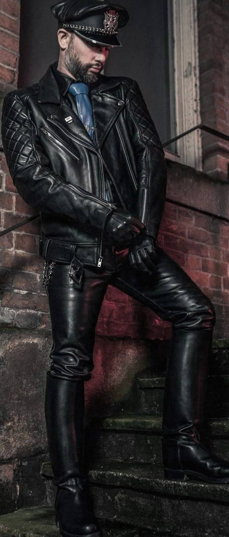 Unbetitelt Leather Jacket Men Mens Leather Coats Leather Outfit [ 1729 x 736 Pixel ]