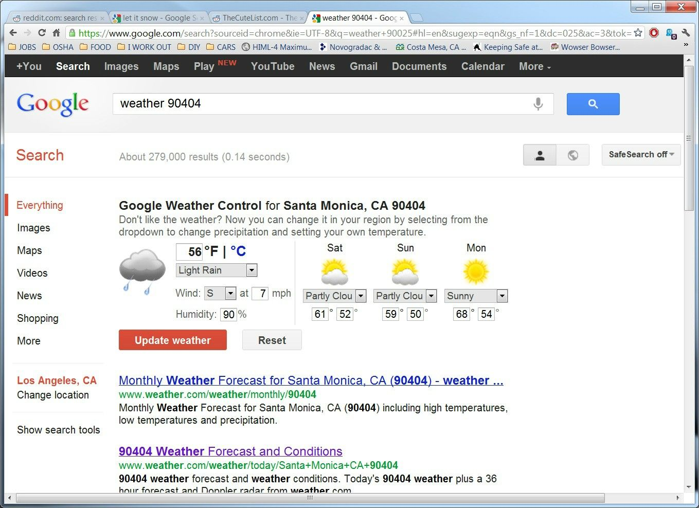 Control Your Own Weather Thanks Google Google Weather Youtube News Bizarre News