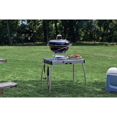 Weber Portable Charcoal Grill Table Silver Portable Charcoal