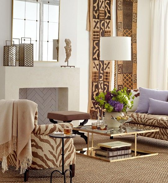 Furniture Discount Websites: Kuba Cloth Wall Hanging Idea