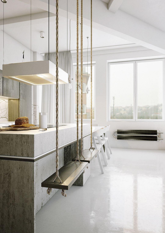 12 Nice Ideas for Your Modern Kitchen Design #kitchendesigninspiration