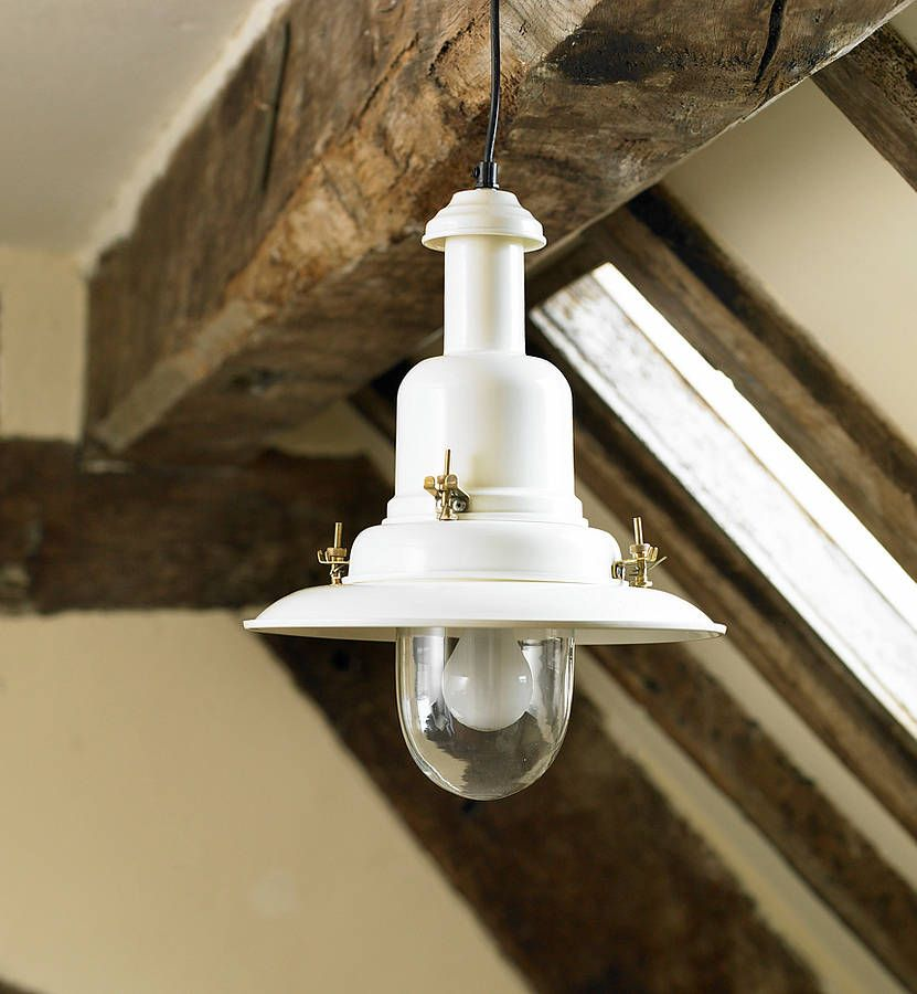 country cottage fisherman ceiling light by country ...