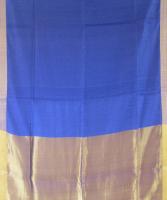 Royal Blue Zari Saree Gocoop.com #Gocoop #Silksarees